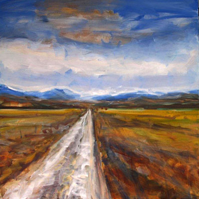 nigel wilson nz landscape artist, oil paintings