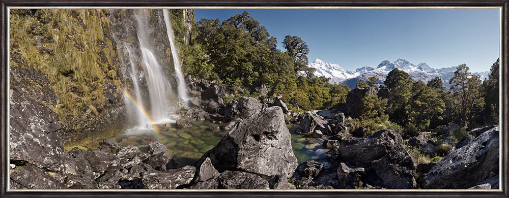 Peter Latham nz fine art photography, Earland Falls, Routeburn Track, Fiordland