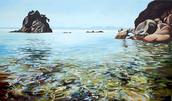 sarah mcbeath nz landscape art