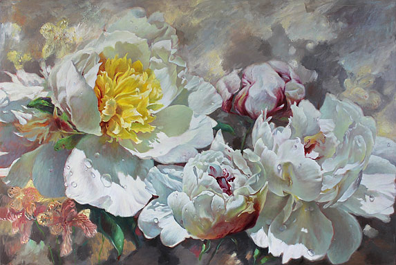 Zoe Feng nz flower artist and painter