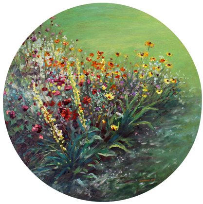 Zoe Feng nz flower art and oil paintings