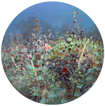 Zoe Feng nz flower art and oil painting