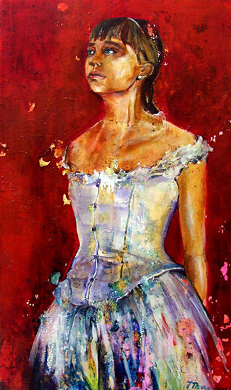 Jayne Thomas nz figurative painter