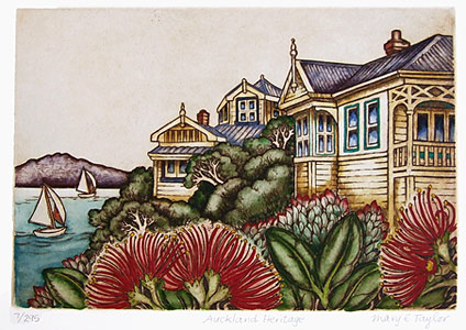 mary taylor auckland fine art heritage etchings and prints
